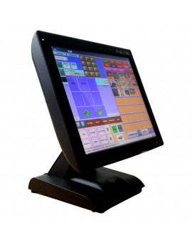 "KT-700 LED, touch POS 15"", SSD, J1900N Quad Core 1,97Gh, Fanless, 4Gb RAM, with integrated viewfinder, Black"