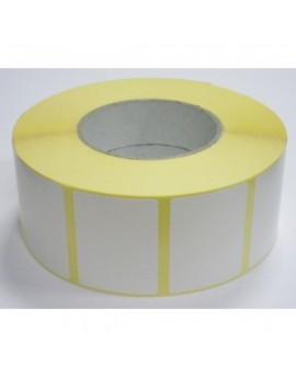 Matte white labels 100x25mm (8400 labels/box)