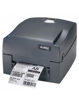 G500 ,direct and thermal transfer label, USB, Ethernet and Serial, 127mm/sec.