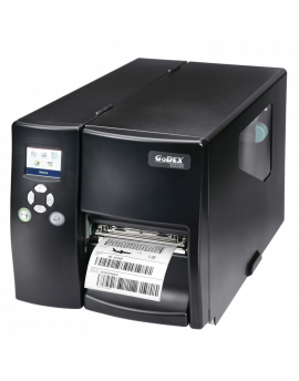 EZ2250i , Thermal and direct transfer labeler, USB, USB Host, Ethernet and Serial, 177mm/sec.