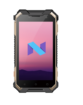 """MAXI 40, PDA 5"""", QuadCore, 4+16Gb, 5+13MP, 4000mAh, Gorilla glass, IP68"""